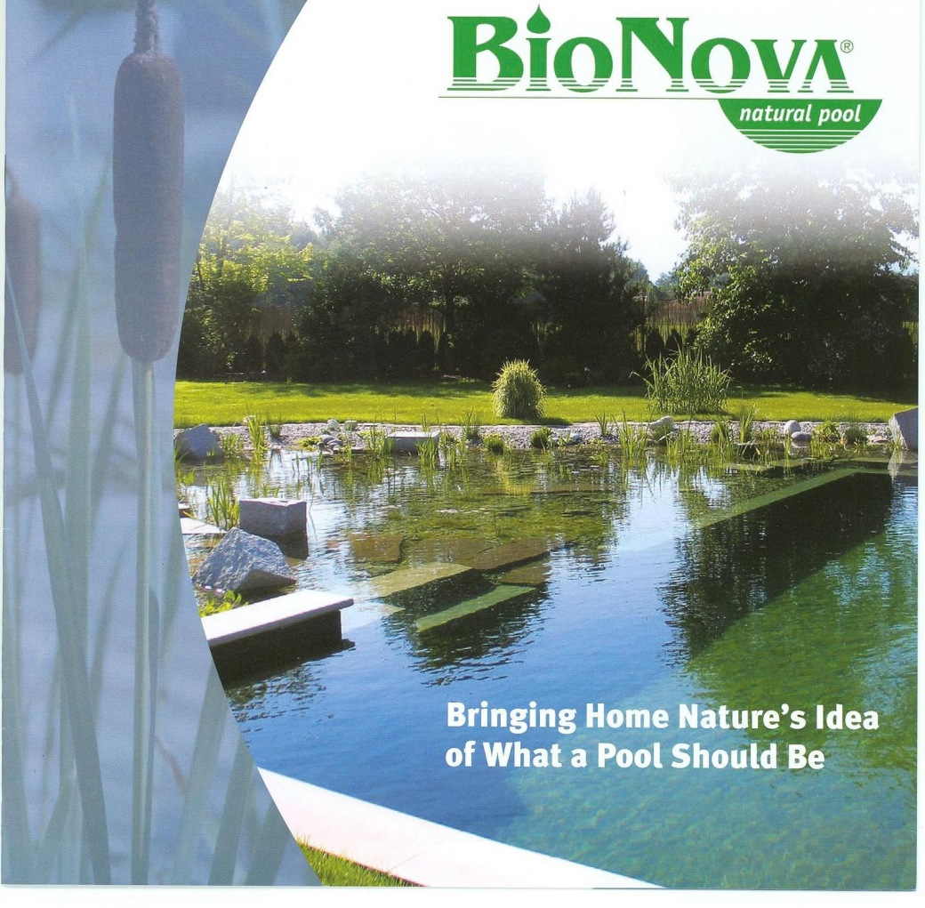 BioNova: Biobased pools and water purification systems