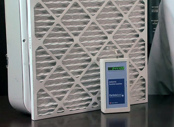 Why not a do-it-yourself air purifier?