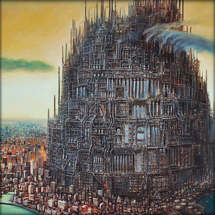 These Dystopian Paintings Portend The Terrifying Near Future Of Our Cities | Co.Create | creativity + culture + commerce
